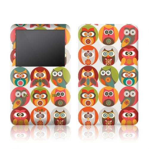 Owls Family iPod classic Skin
