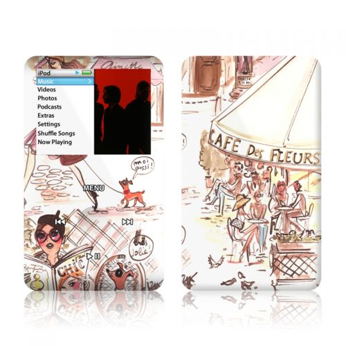 Paris Makes Me Happy iPod classic Skin