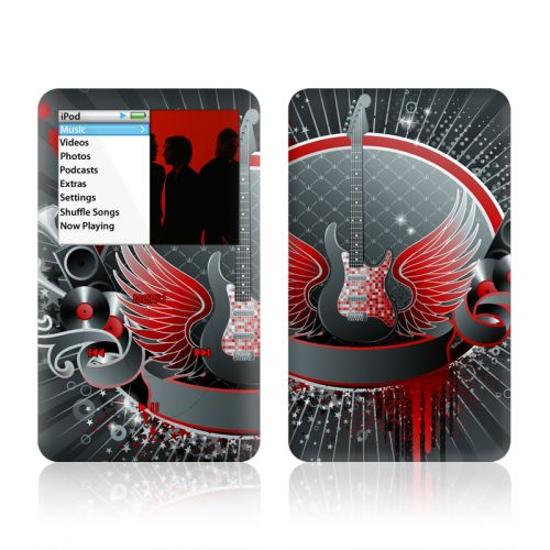 Rock Out iPod classic Skin