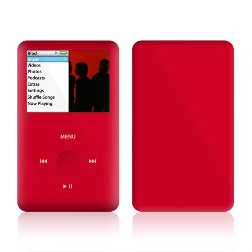 Solid State Red iPod classic Skin