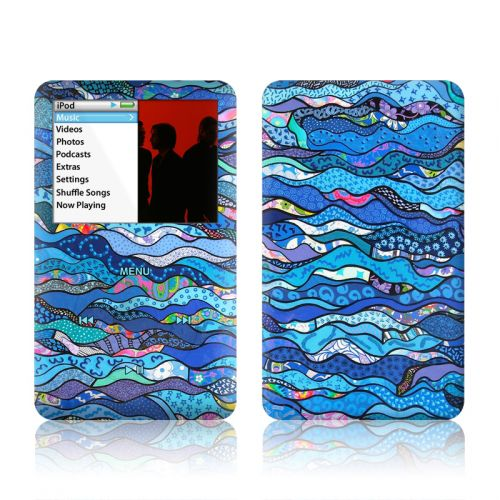 The Blues iPod classic Skin