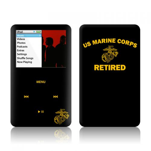 USMC Retired iPod classic Skin