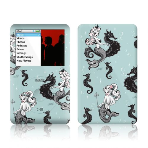 Vintage Mermaid iPod classic Skin