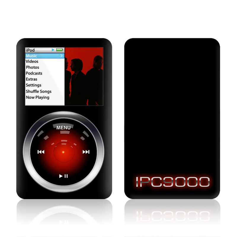 iPod classic Skin design of Screenshot, Technology, Circle, Space with black, gray, red, blue colors