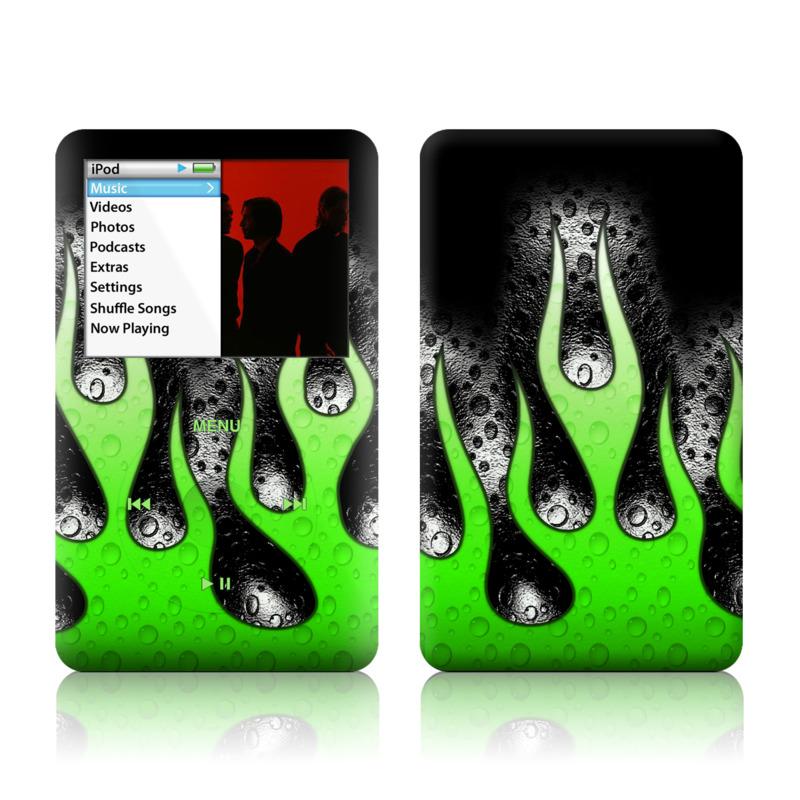 Acid Flames iPod classic Skin