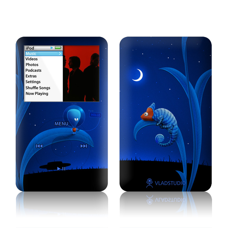 Alien and Chameleon iPod classic Skin