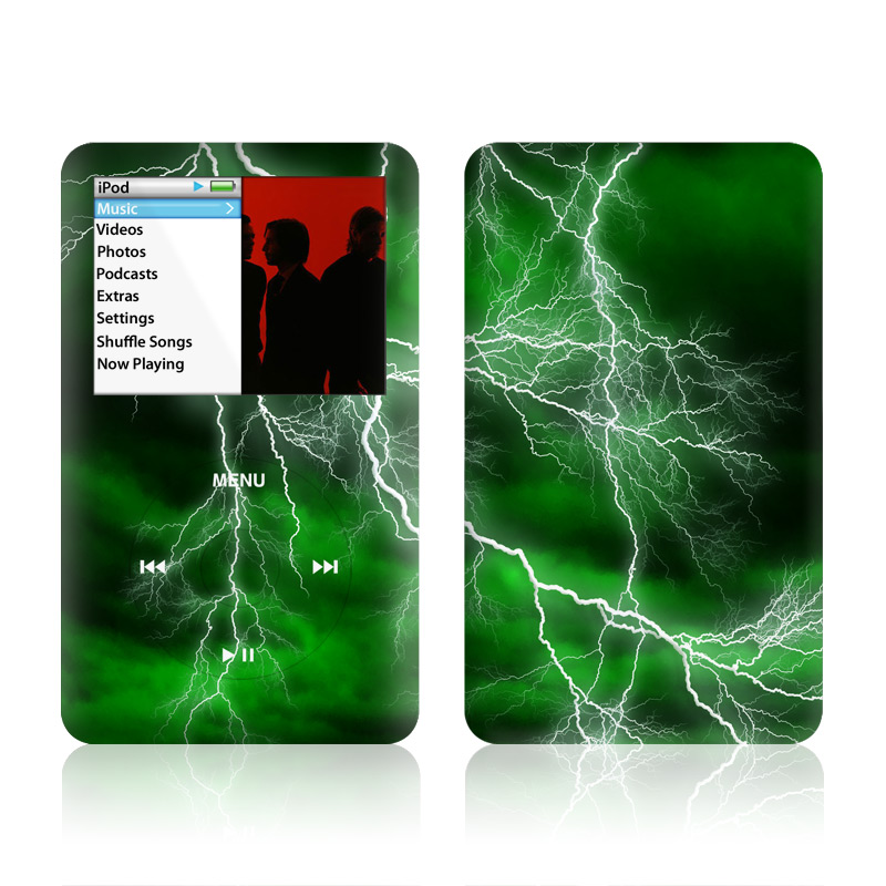 Apocalypse Green iPod classic Skin