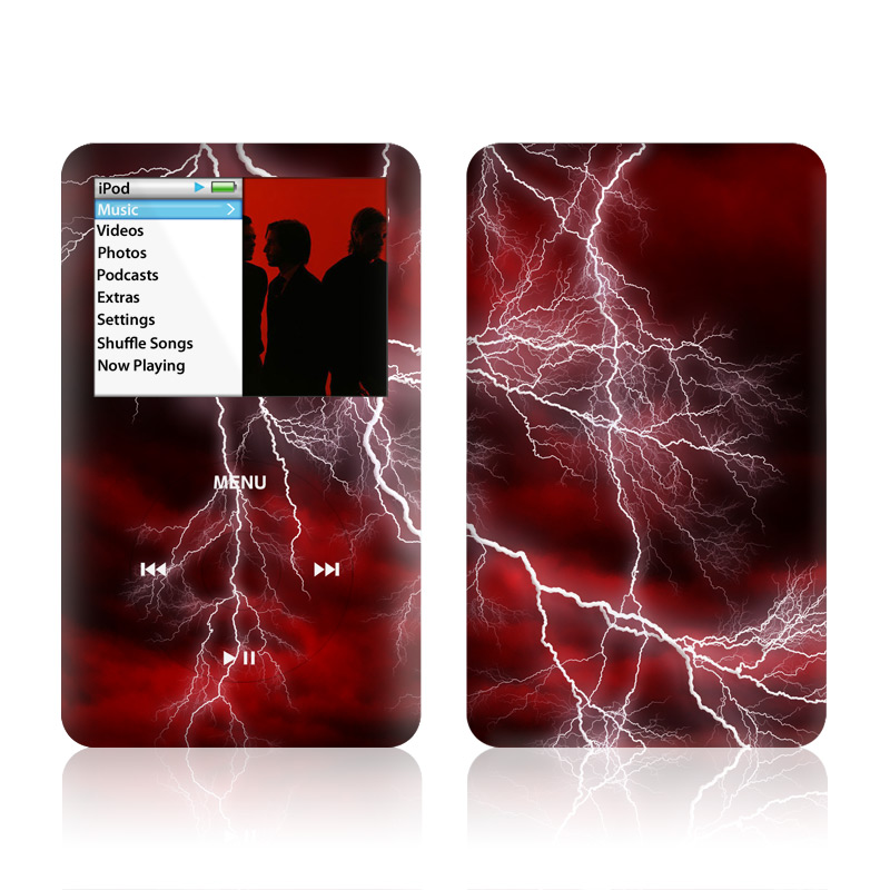 Apocalypse Red iPod classic Skin