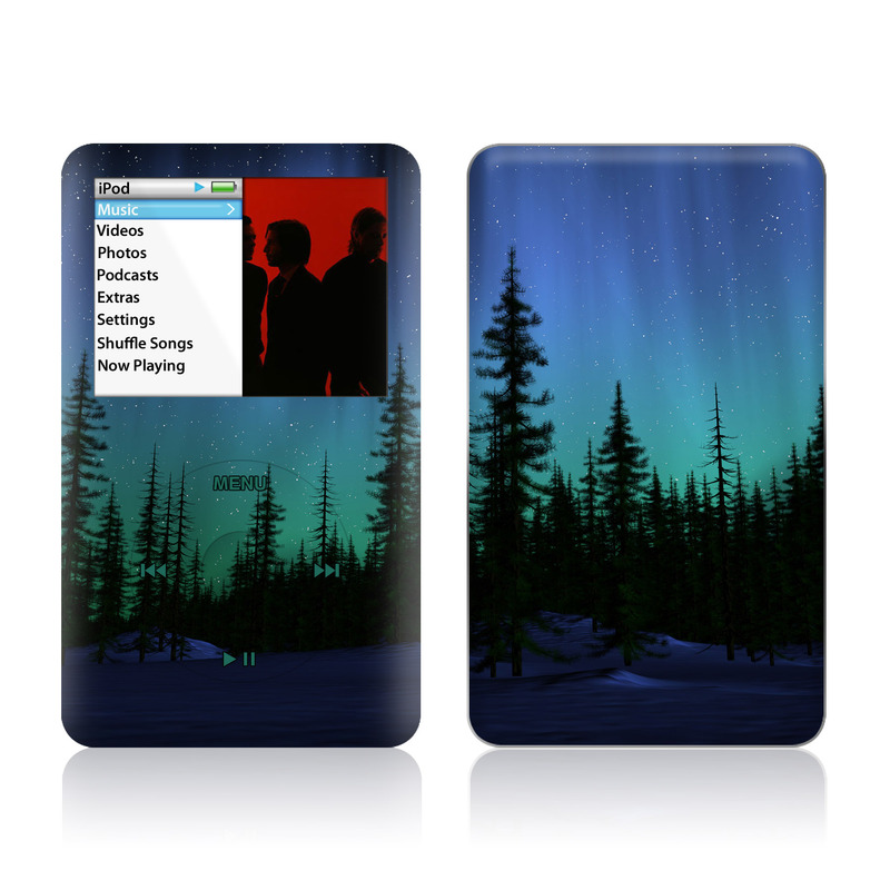 Aurora iPod classic Skin