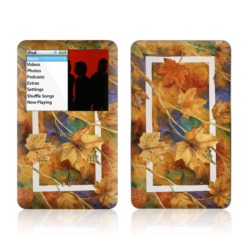 Autumn Days iPod classic Skin