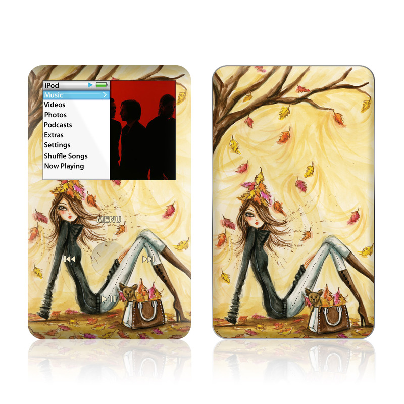 Autumn Leaves iPod classic Skin
