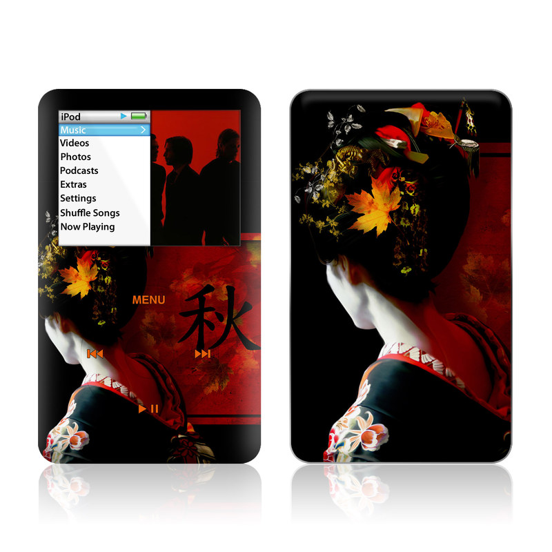Autumn iPod classic Skin