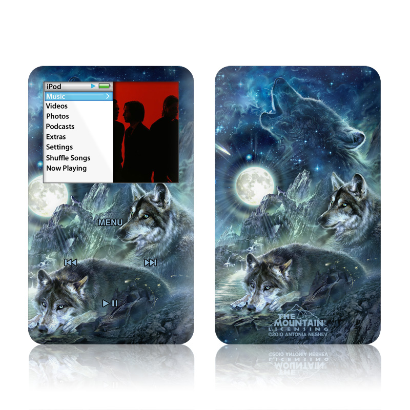Bark At The Moon iPod classic Skin