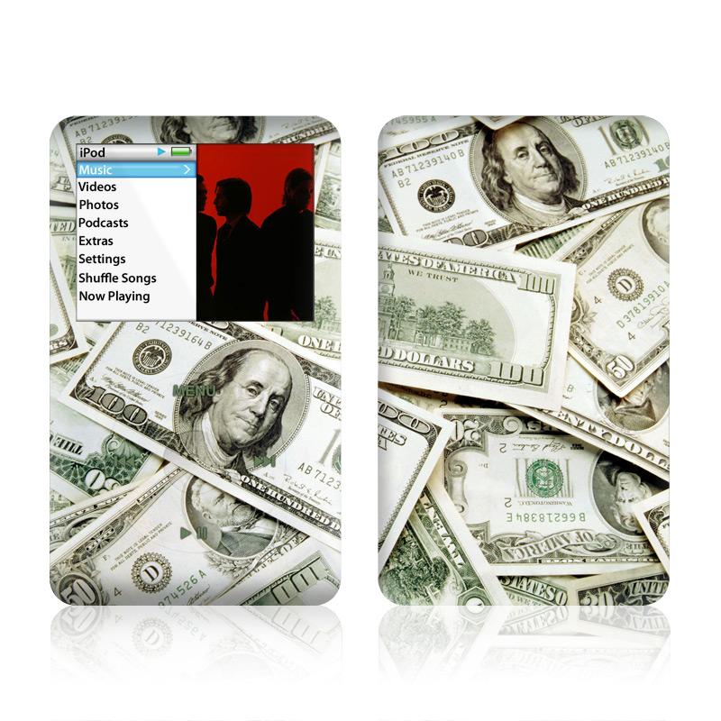Benjamins iPod classic Skin