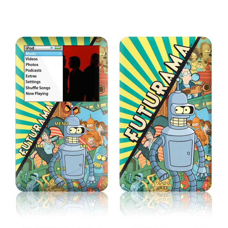 Bender iPod classic Skin