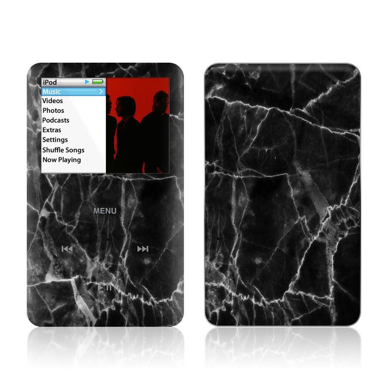 Black Marble iPod classic Skin