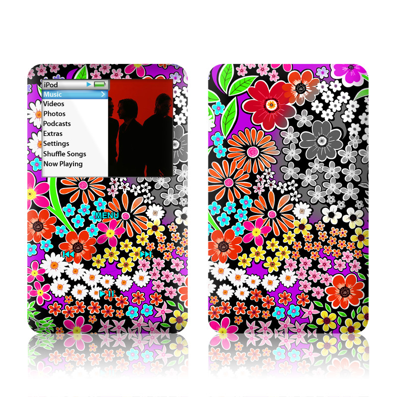 A Burst of Color iPod classic Skin