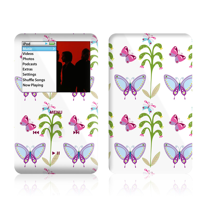 Butterfly Field iPod classic Skin