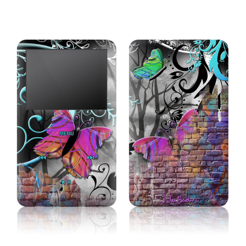 Butterfly Wall iPod classic Skin