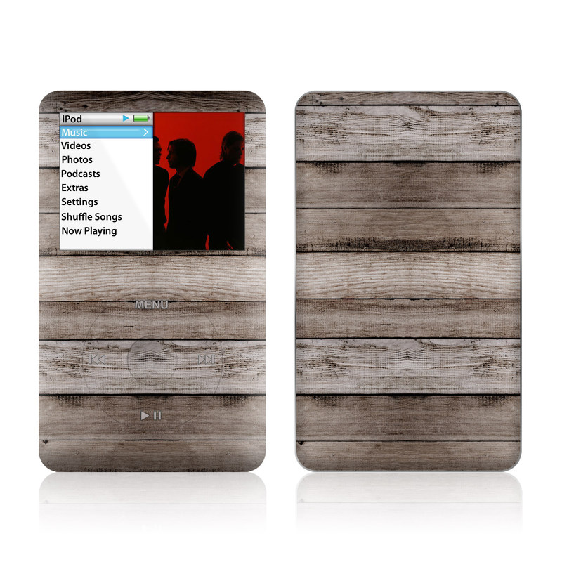 Barn Wood iPod classic Skin