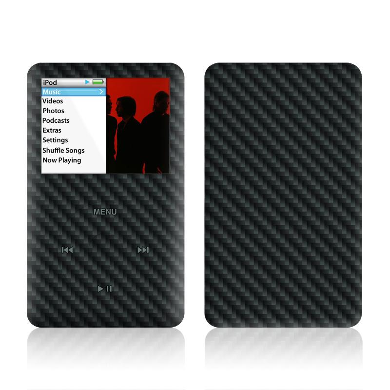 Carbon Fiber iPod classic Skin