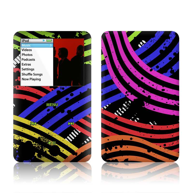 Color Flow iPod classic Skin