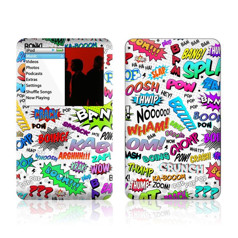 Comics iPod classic Skin