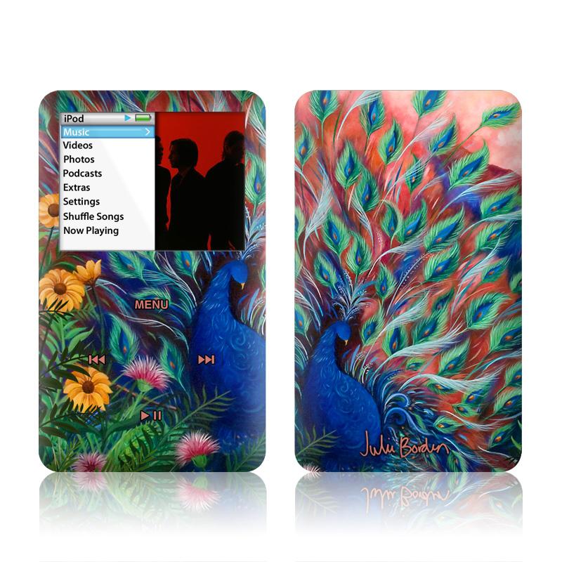 Coral Peacock iPod classic Skin