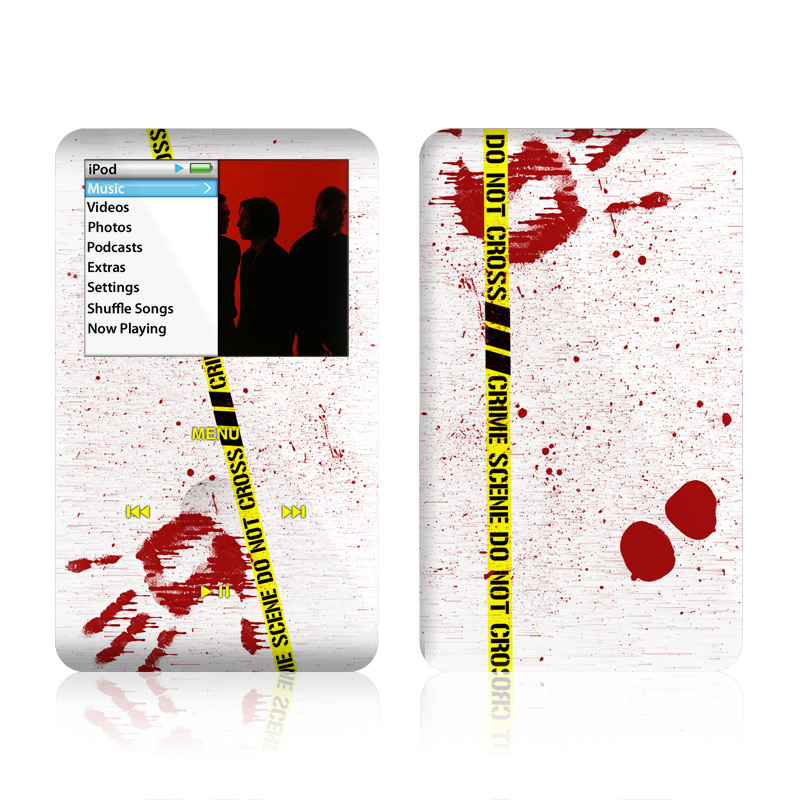 Crime Scene Revisited iPod classic Skin