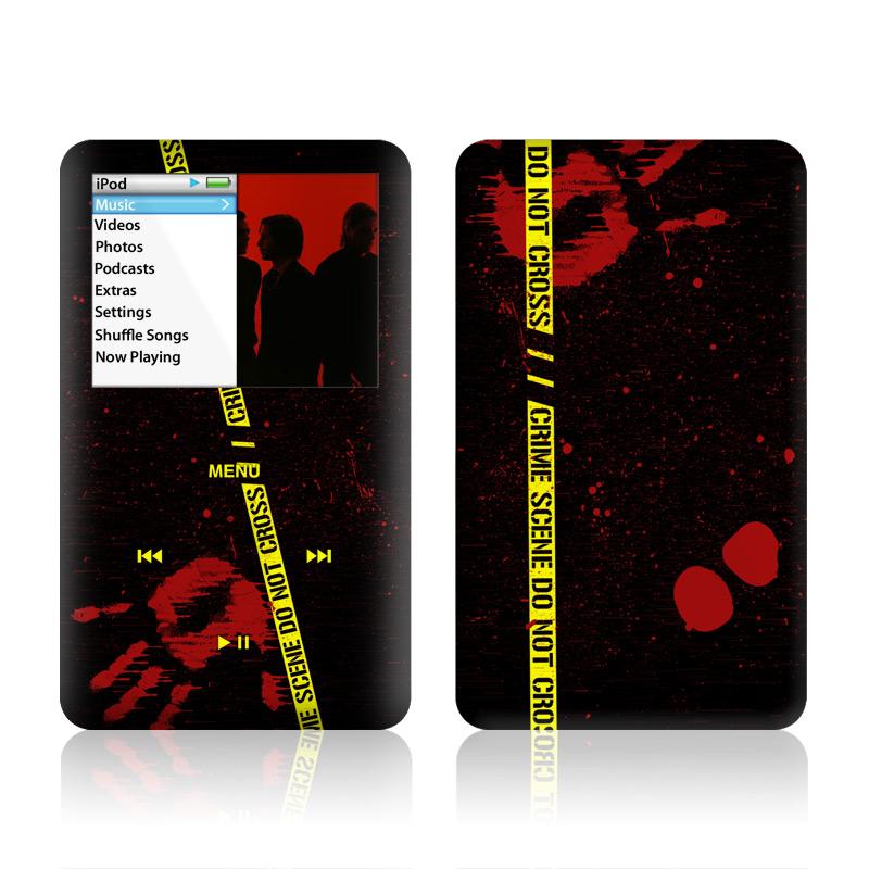 Crime Scene iPod classic Skin