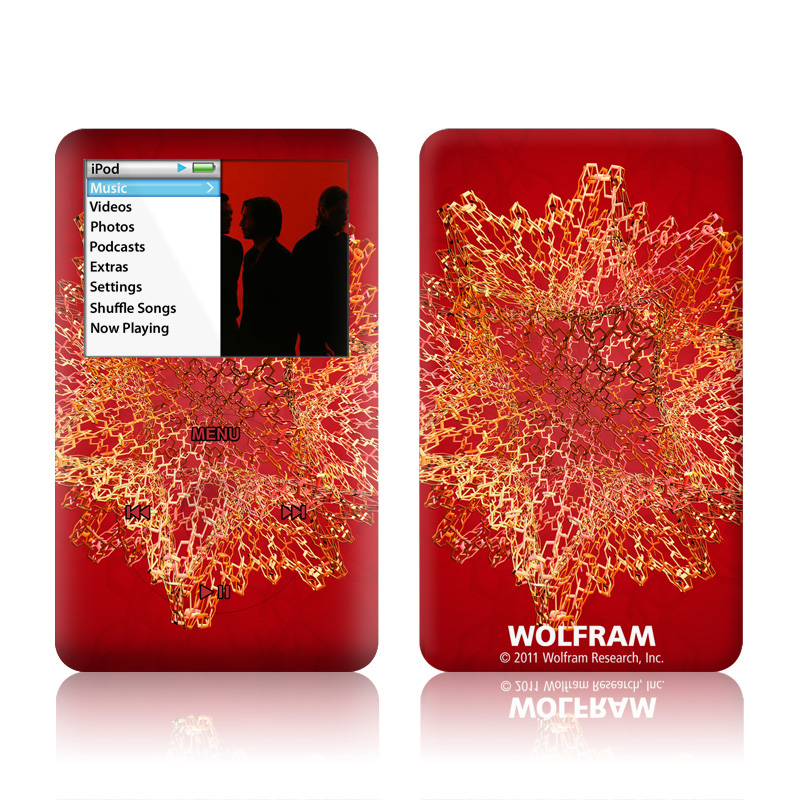 Dodecahedron Cage iPod classic Skin