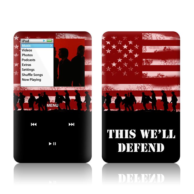 Defend  iPod classic Skin