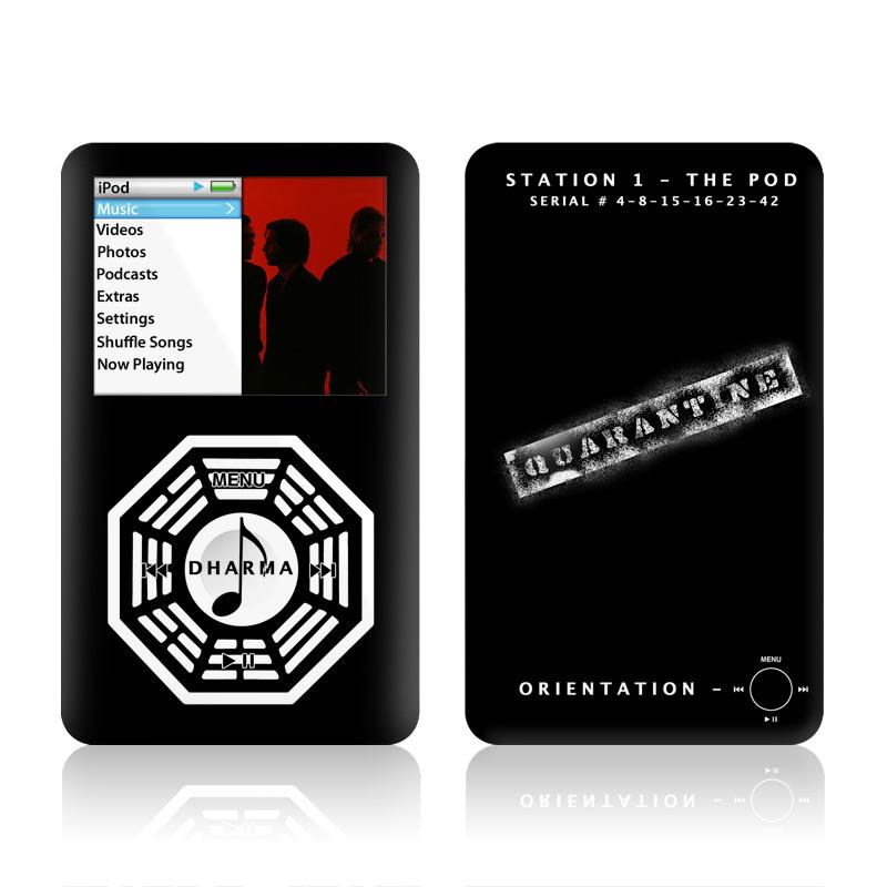 Dharma Black iPod classic Skin