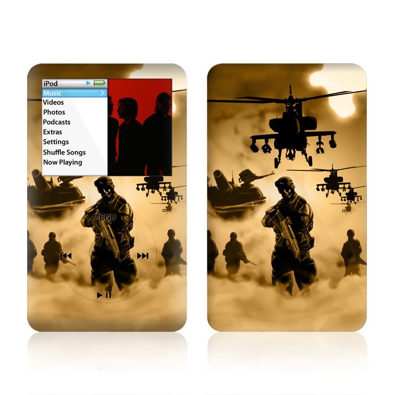 Desert Ops iPod classic Skin