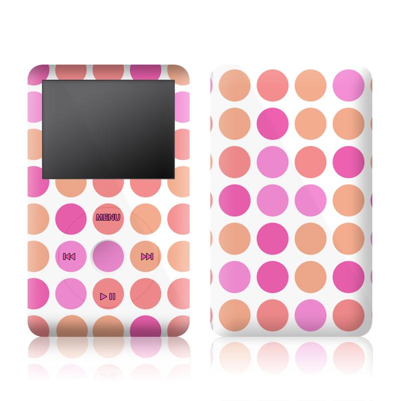 Big Dots Peach iPod classic Skin