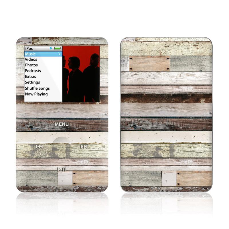 Eclectic Wood iPod classic Skin