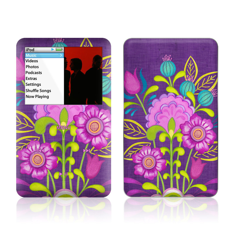 Floral Bouquet iPod classic Skin