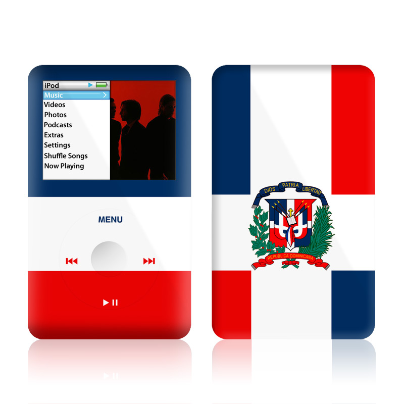 Dominican Republic Flag iPod classic Skin