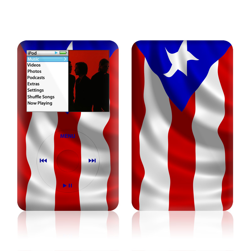 Puerto Rican Flag iPod classic Skin