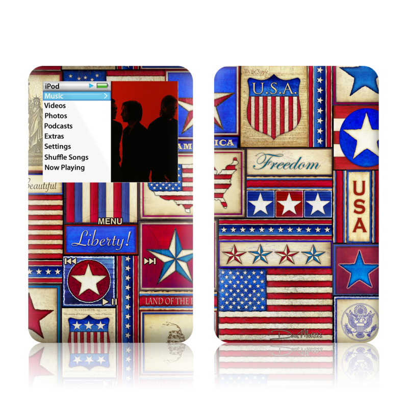 Flag Patchwork iPod classic Skin