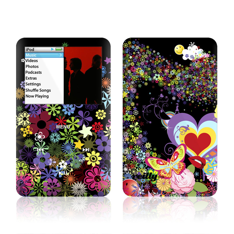 Flower Cloud iPod classic Skin