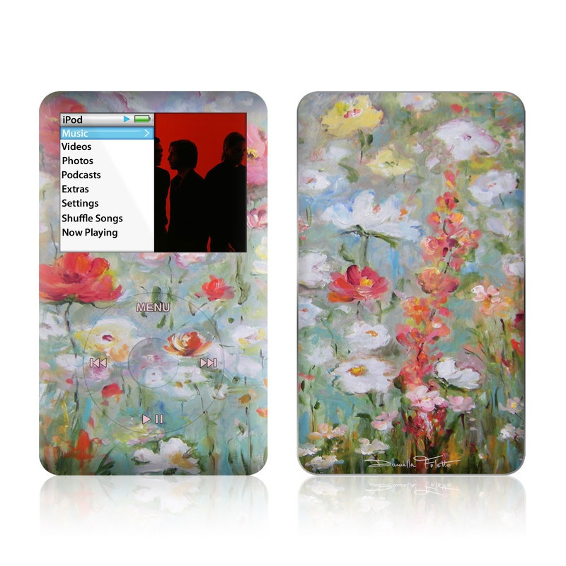 Flower Blooms iPod classic Skin