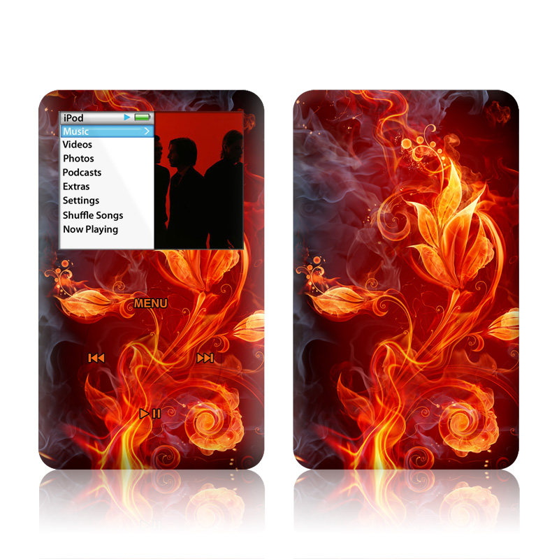 Flower Of Fire iPod classic Skin