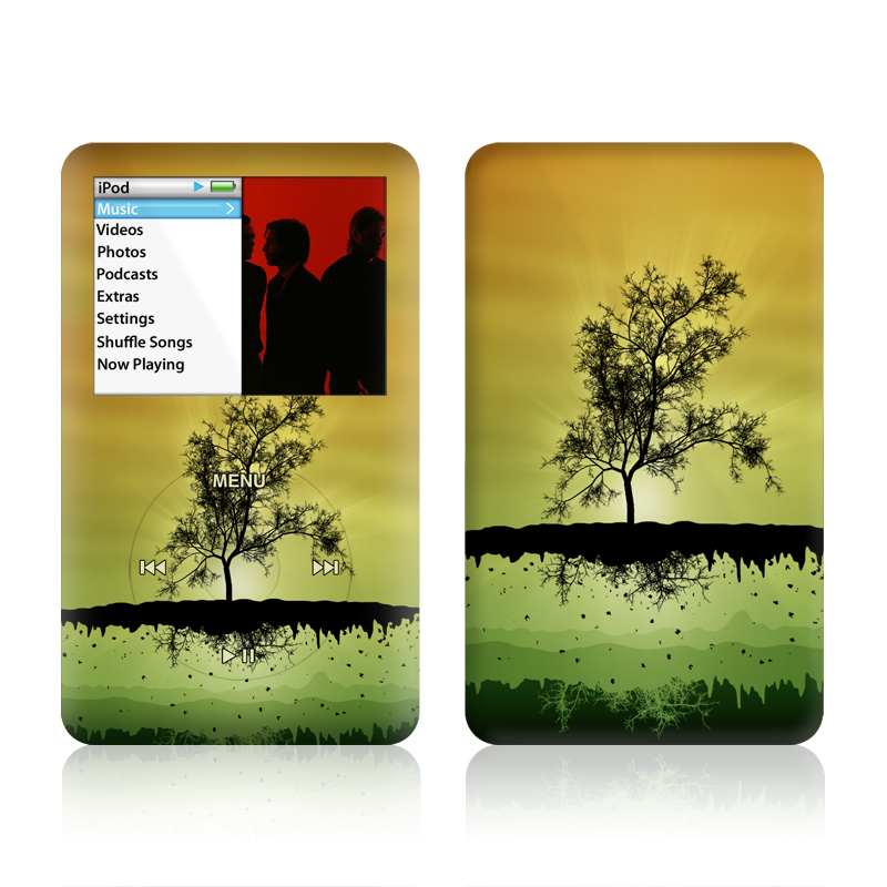 Flying Tree Amber iPod classic Skin