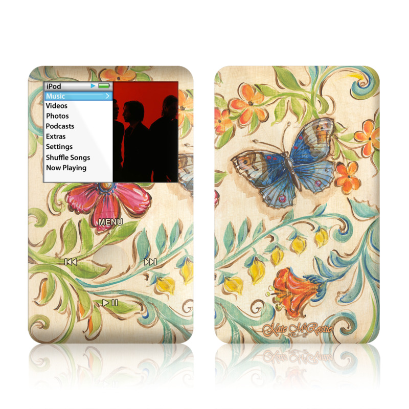 Garden Scroll iPod classic Skin