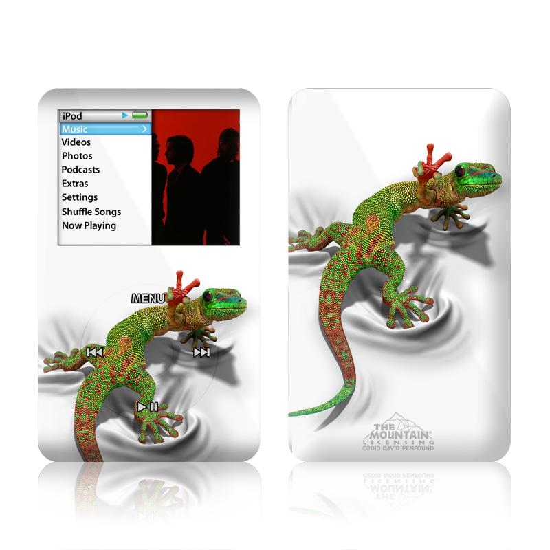 Gecko iPod classic Skin