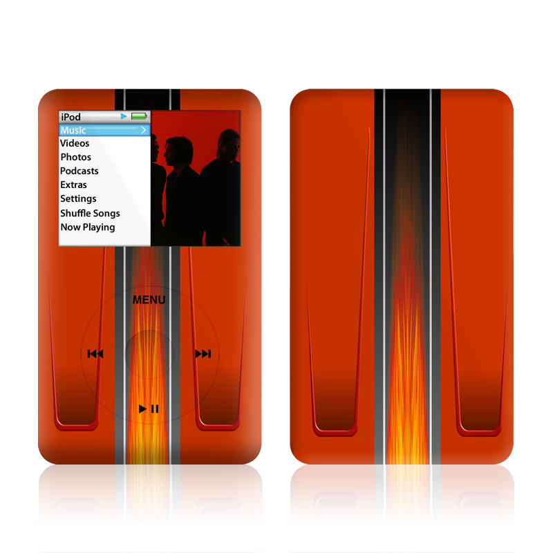 Hot Rod iPod classic Skin