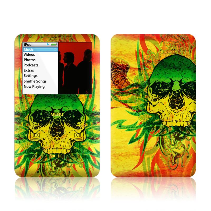 Hot Tribal Skull iPod classic Skin