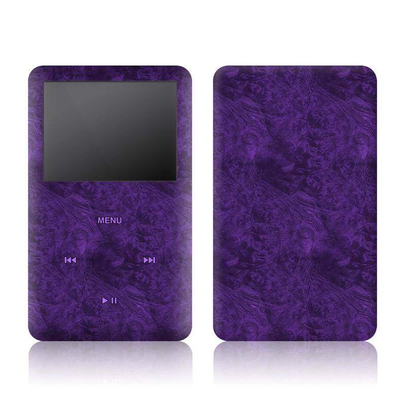 Purple Lacquer iPod classic Skin
