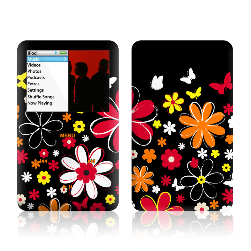 Laurie's Garden iPod classic Skin